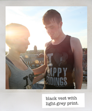 black Happy Endings vest