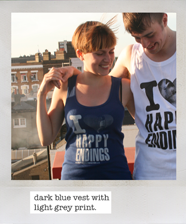 back of Happy Endings vest