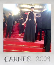 Red carpet Cannes 2009
